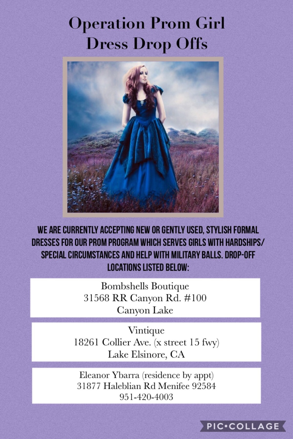 28fb1e007f83 You may donate new or gently used stylish dresses, accessories, fancy  shoes, makeup items, raffle items, services, or gift cards and in-kind  donations to ...